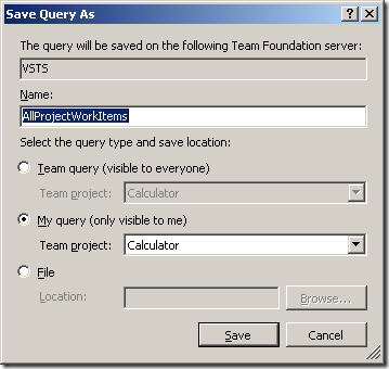 Exporting all work items from all team projects - Accentient
