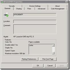 HP4345Remote
